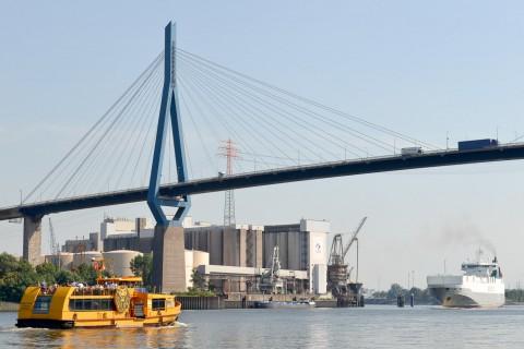 Foto-ID 15021813 Köhlbrandbrücke Hamburg
