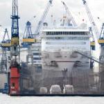 Foto ID 2015041714 Kreuzfahrtschiffe Blohm + Voss Hamburg, MS Europa, MS Rotterdam
