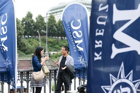 MSC Kreuzfahrten Hamburg Cruise Days