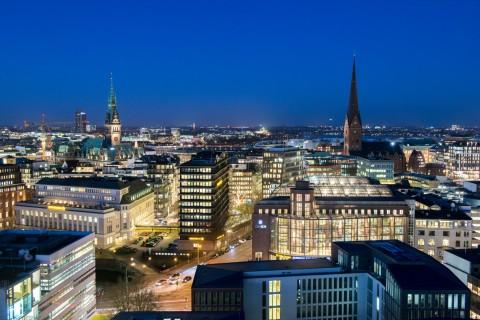 Foto ID 16011502 Nachtaufnahme, Hamburg-Altstadt
