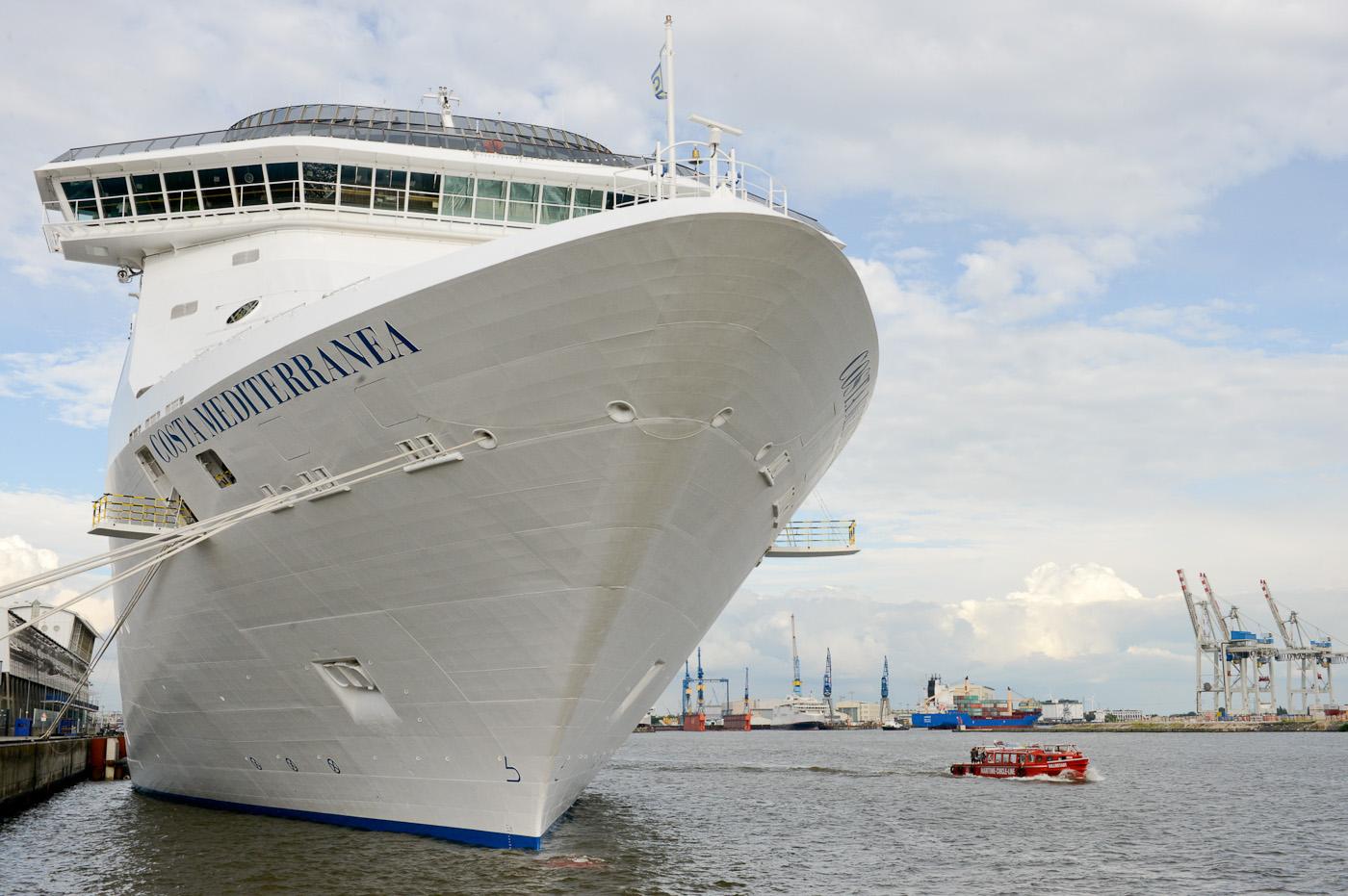Foto ID 2014062907 Kreuzfahrtschiff Costa Mediterranea