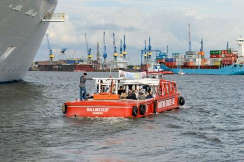 Foto ID 2014062913 Hafenrundfahrt Barkasse Ballinstadt Hamburg