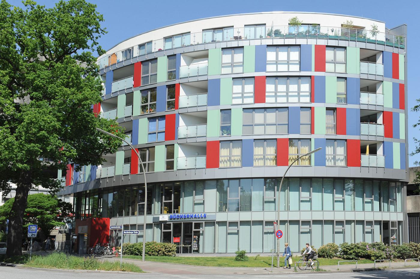 Foto ID 2014063006 Bücherhalle Rahlstedt