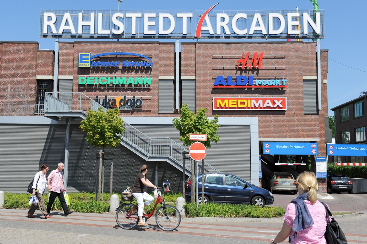 Foto ID 2014063009 Einkaufszentrum Rahlstedt Arcaden
