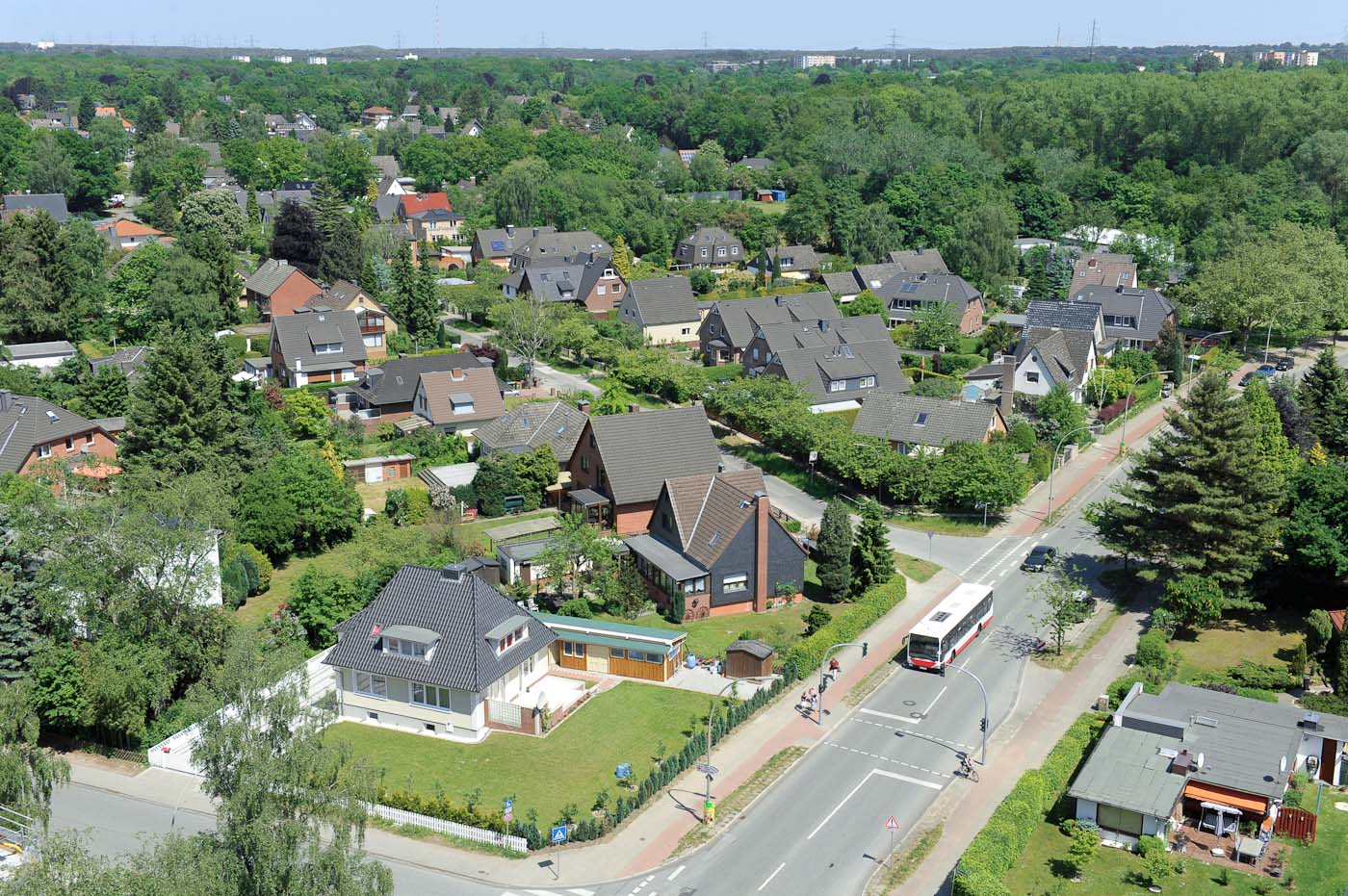 Foto ID 2014063012 Luftaufnahme Hamburg Rahlstedt