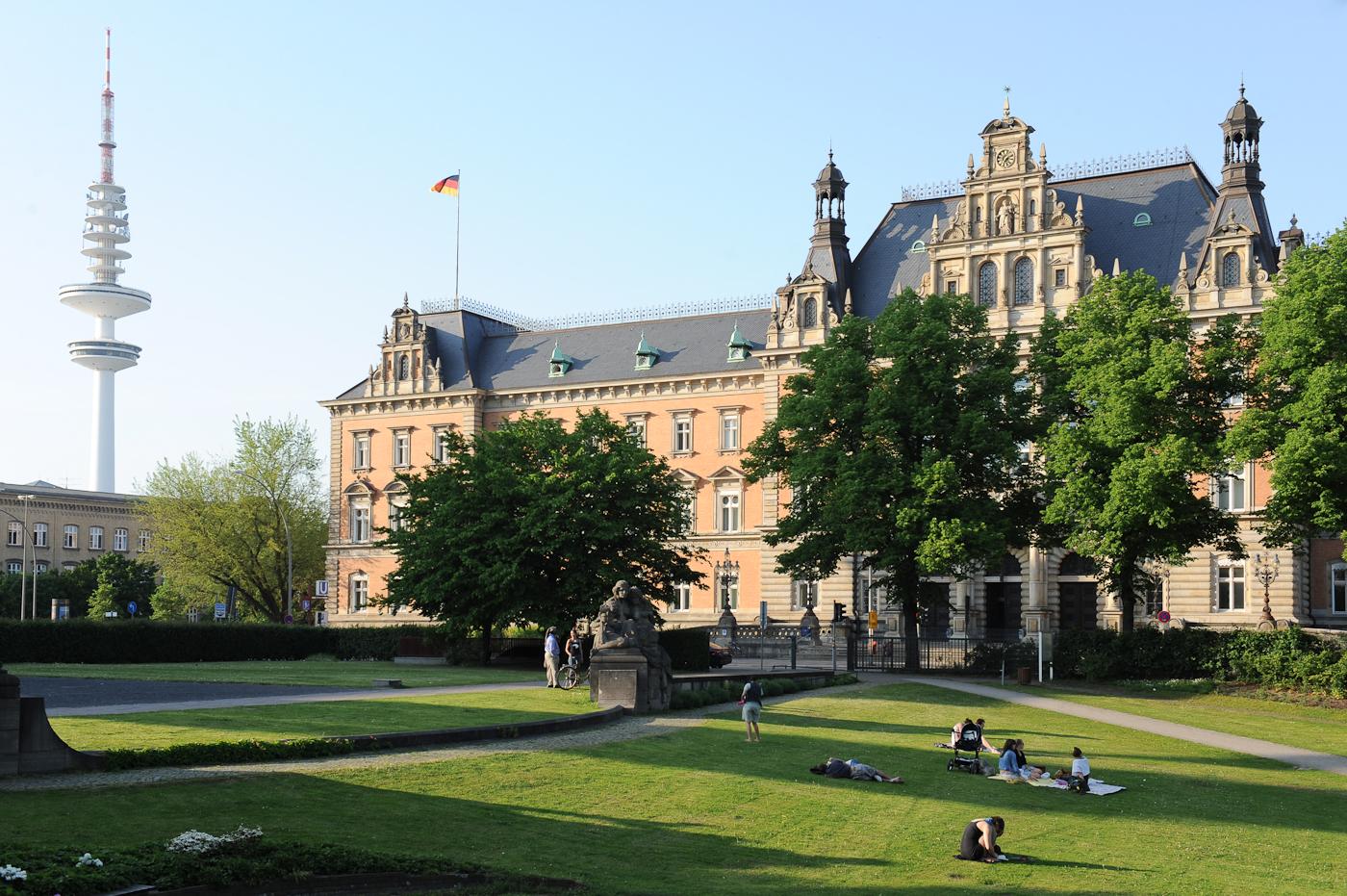 Foto ID 2015032001 Landgericht Hamburg Strafjustizgebäude St. Pauli