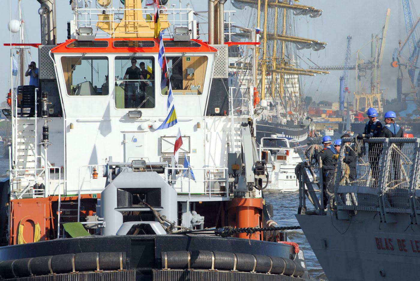 "Foto ID 2015041701 Hafengeburtstag Hamburg, spanische Fregatte ""Blas de Lezo"""