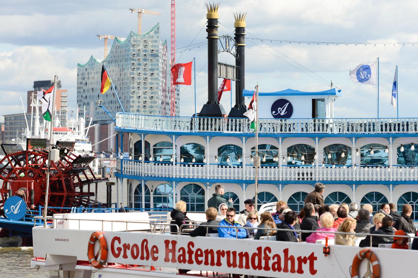 Foto ID 15042605 Lousiana Star, Hafenrundfahrt Hamburg