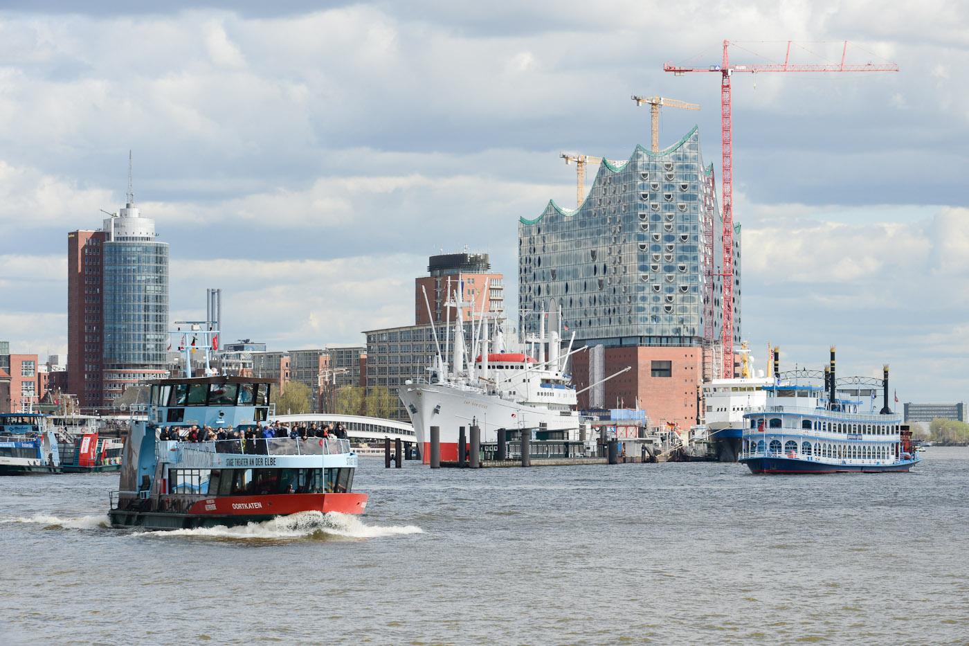 Foto ID 15042607 Lousiana Star, Hafenrundfahrt Hamburg