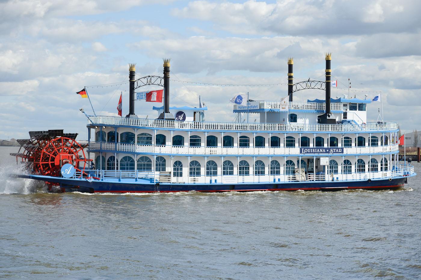 Foto ID 15042608 Lousiana Star Hafenrundfahrt Hamburg