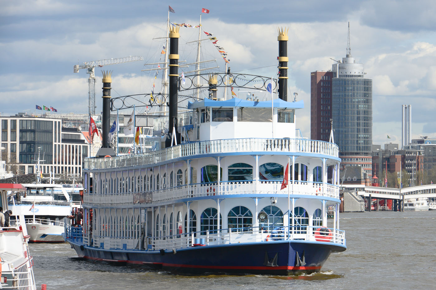 Foto ID 15042612 Lousiana Star, Hafenrundfahrt Hamburg