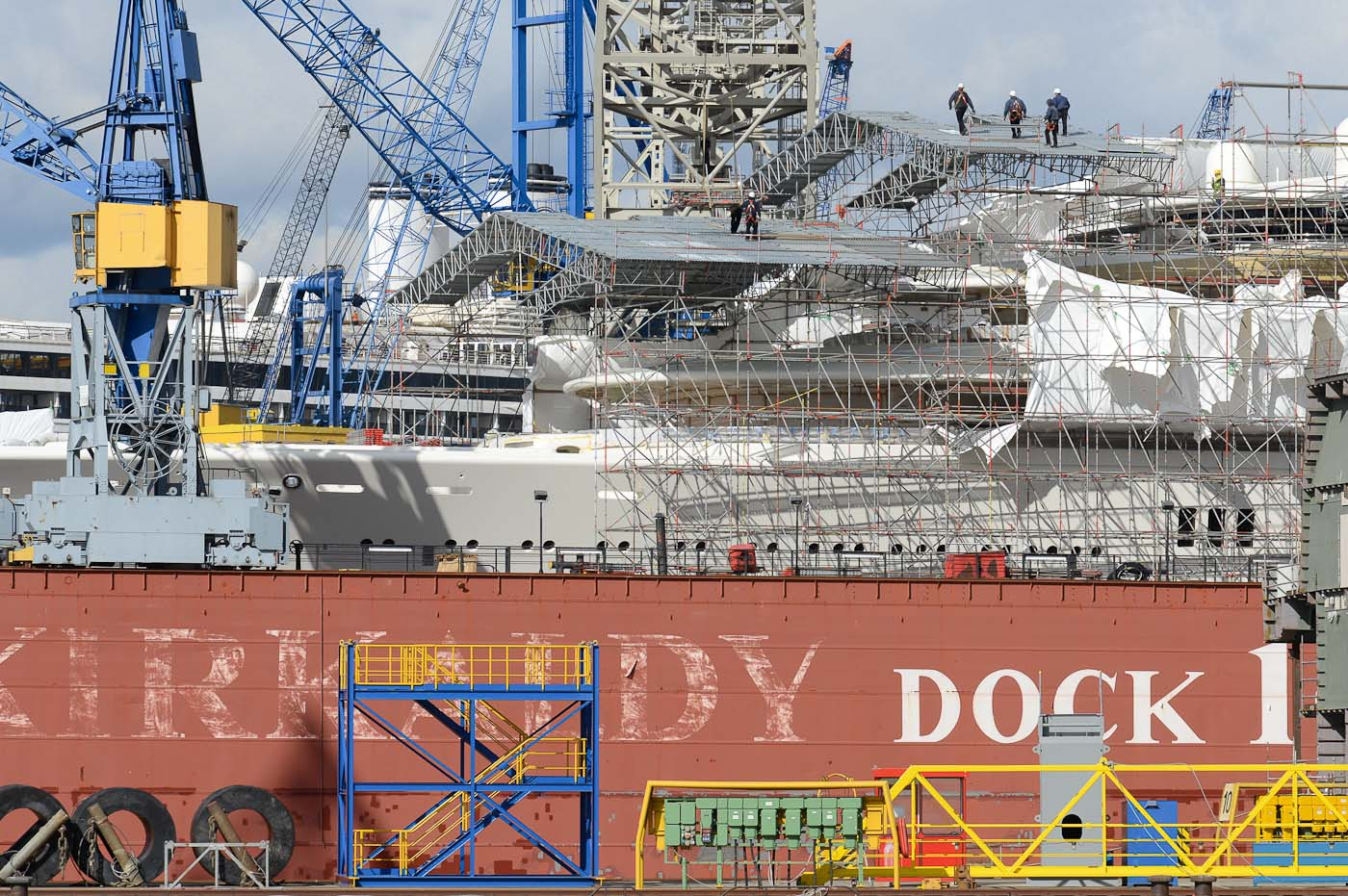 Foto ID 2015041710 Traditionswerft Blohm + Voss, Hafen Hamburg