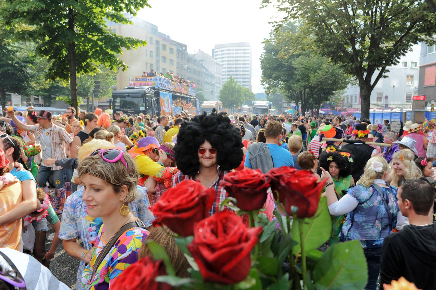 Foto ID 14070705 Schlagermove Hamburg St. Pauli
