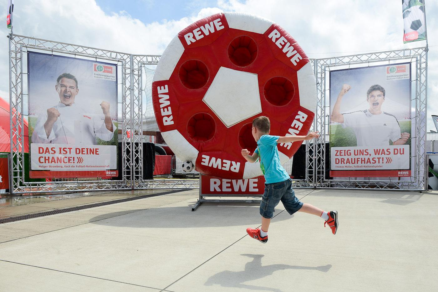 Rewe Family Fussballwelt