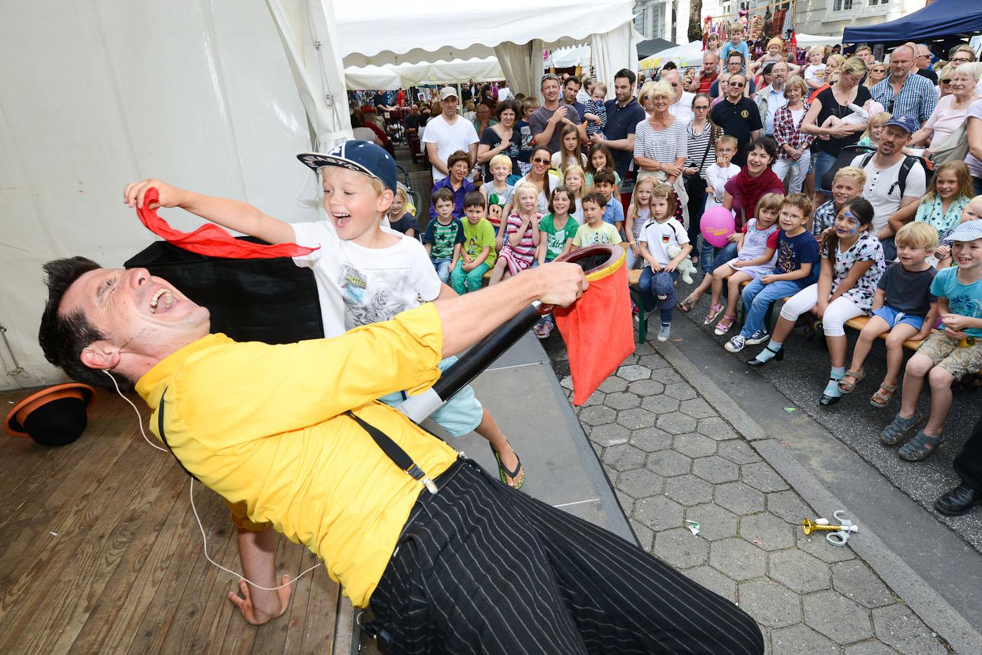 Pierre le Clown, Familien-Show
