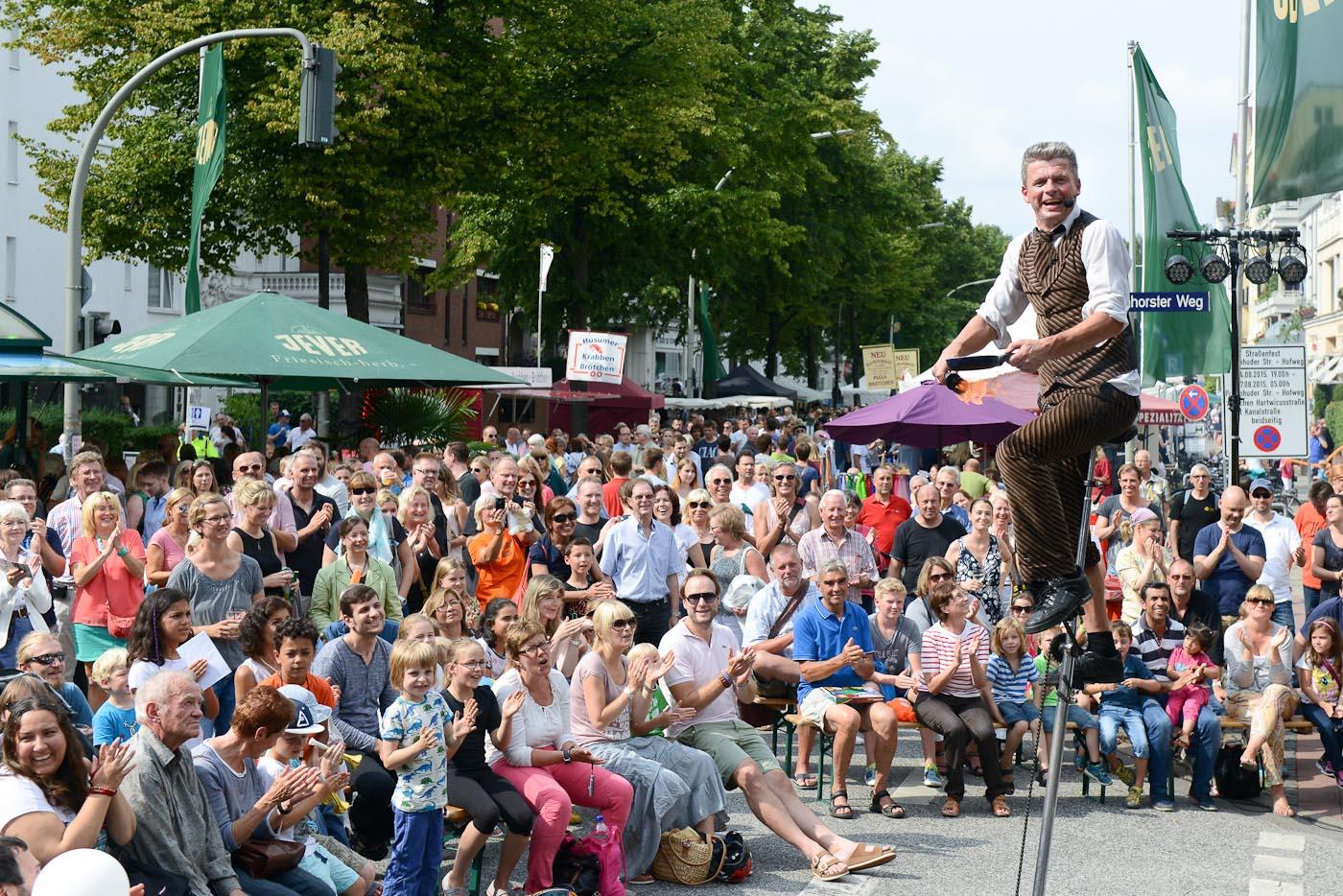 Jens Ohle, Comedy & Akrobatik