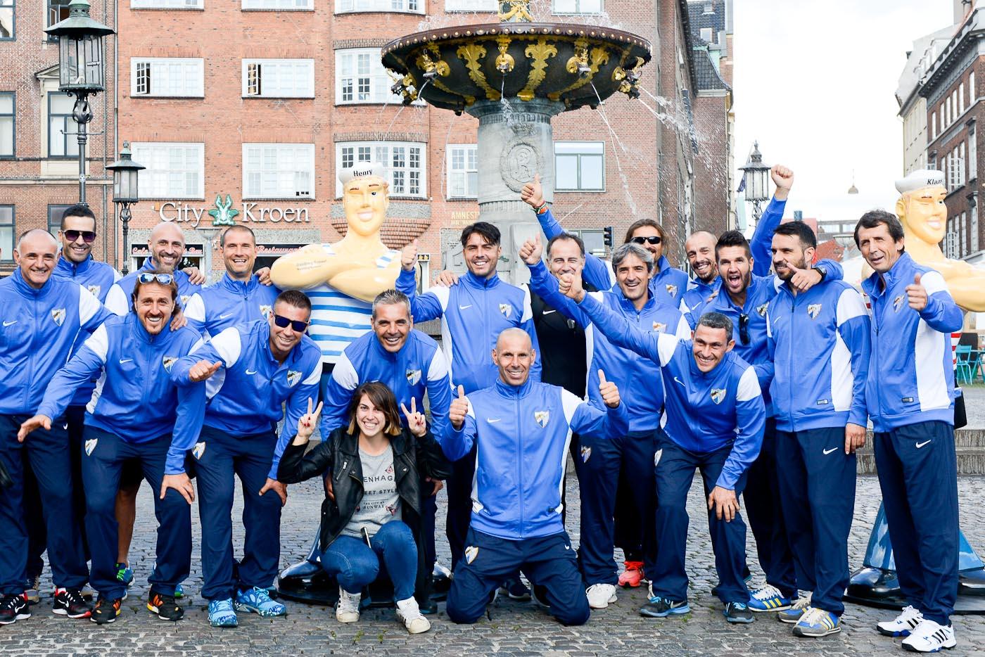 Foto ID 150922013 Málaga Football Club, Hamburg on Tour, Kopenhagen