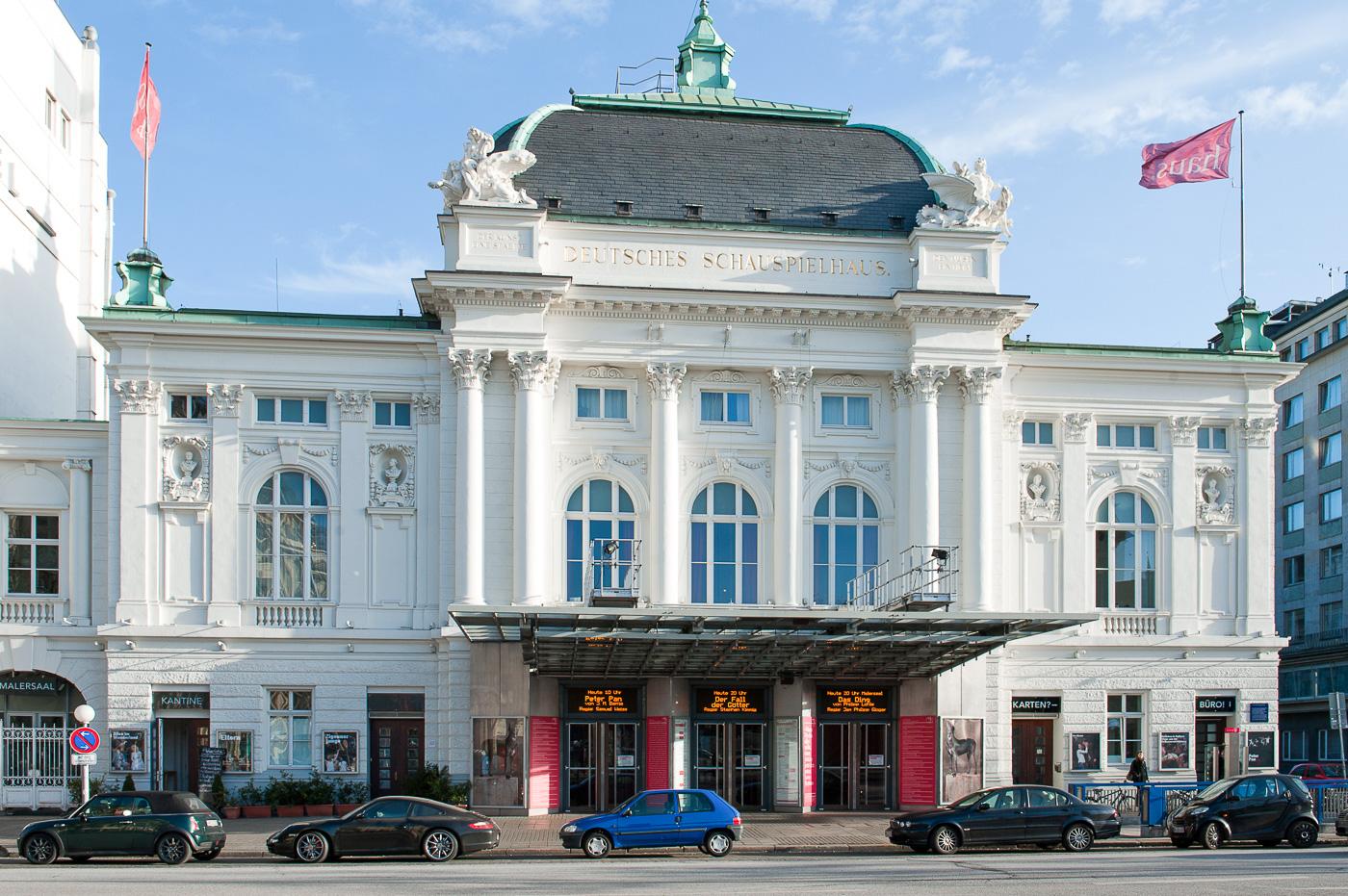 Foto ID 20160209 Deutsches Schauspielhaus, Hamburg, St. Georg