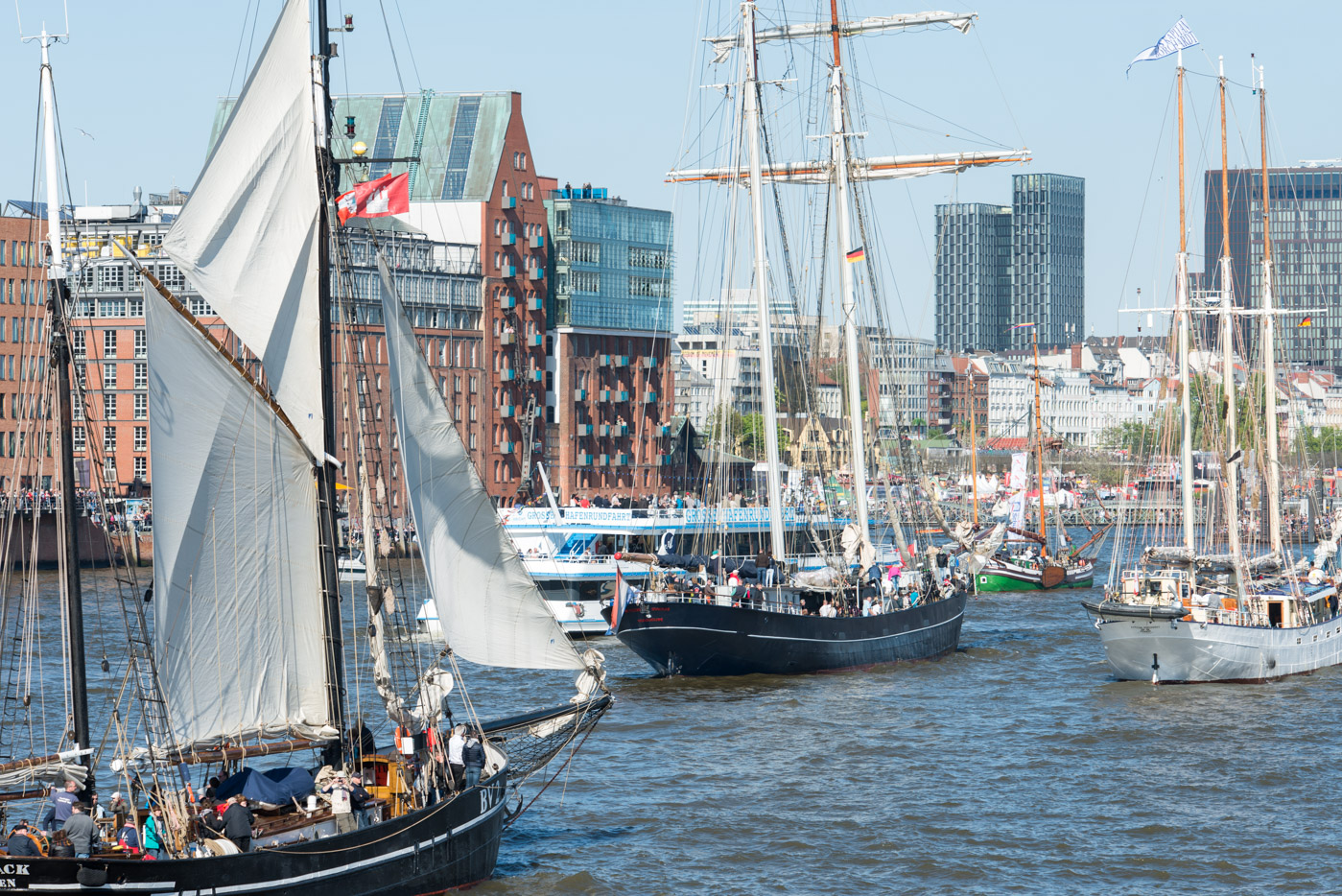Foto ID 160507010 Segelschiffe Hafengeburtstag