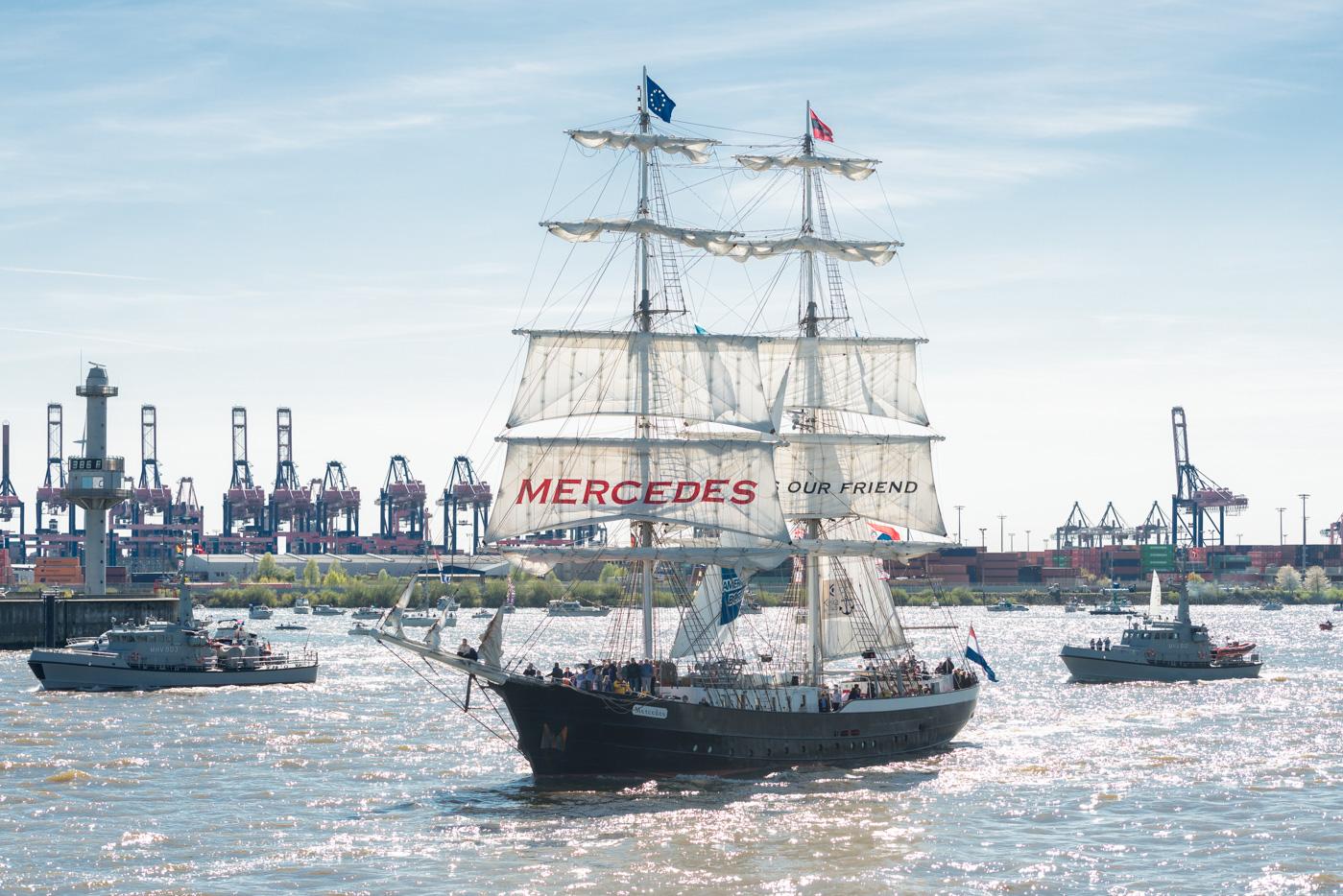 Foto ID 16050703 Segelschiff Mercedes